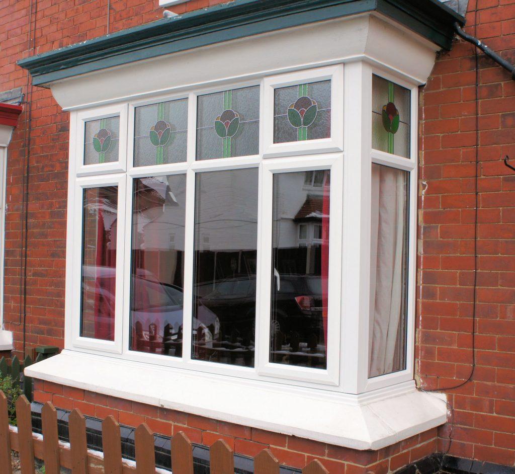 upvc bay bow windows trade windows derby. Black Bedroom Furniture Sets. Home Design Ideas