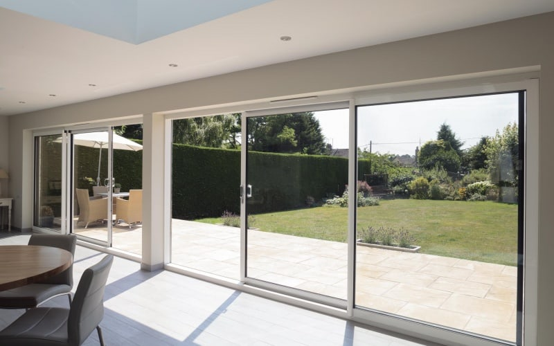 Sliding patio doors from Trade Windows, Derby