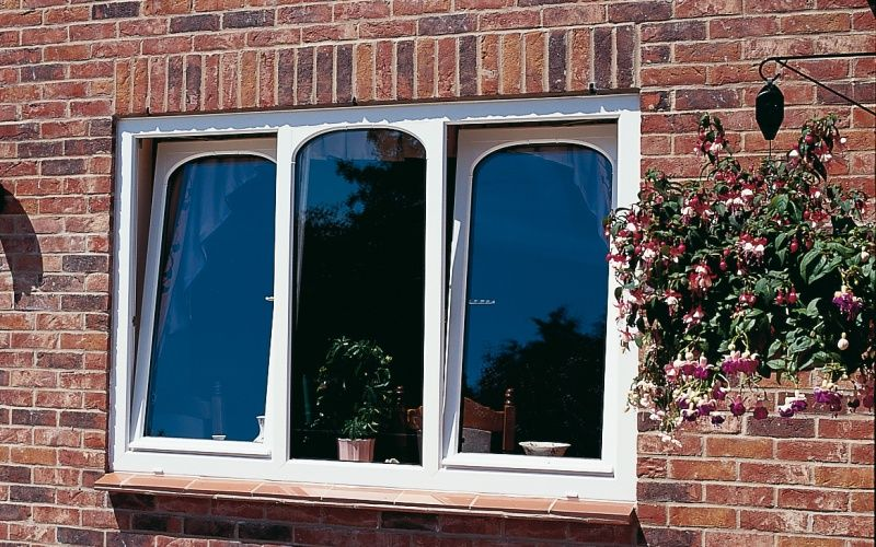 Tilt & Turn Windows Outside View