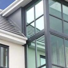Grey PVCu Windows from Trade Windows in Derby