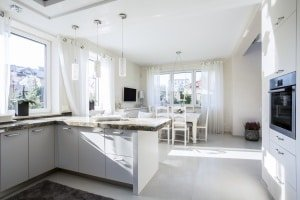 Kitchen extensions in Derby by Trade Windows