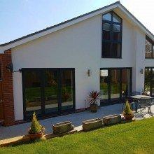 Modus Slim Sash Windows in Modern House
