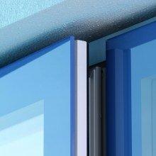 Slate Blue window close up