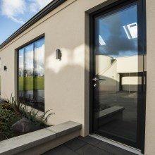 Window + Fully Glazed Door Ant grey