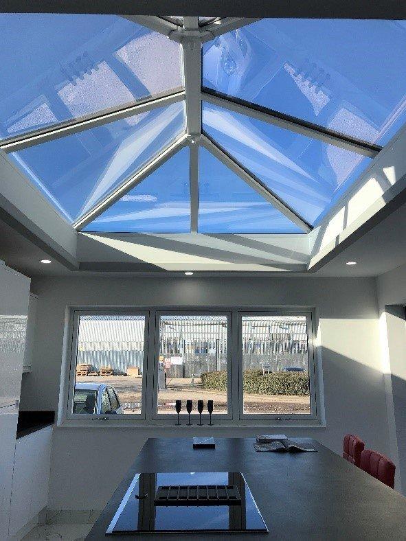 Rooflight in Derby Kitchen Extension Trade Windows