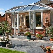 Trade Windows Orangery installed in Derbyshire