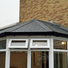 Tiled Roof Conservatory System from Trade Windows SOCIAL