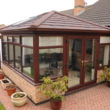 Tiled Roof Conservatory from Trade Windows Derby