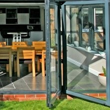 Trade Windows Aluminium Bifold Doors