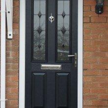 Blue Comp Door