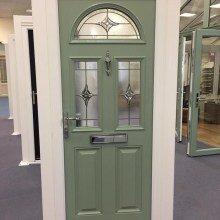 Chartwell green composite door derby