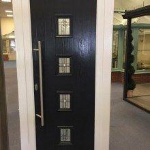 Modern composite door derby