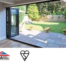 Aspect Bifold Doos from Frame Fast PVCu Bifold doors experts in Derby (1)