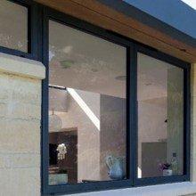 Slimline aluminium windows from Trade Windows in Derby