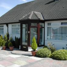 New PVCu windows and porch in Ecclesbourne