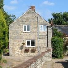 PVCu Windows in stone cottage in Ashbourne Derbyshire